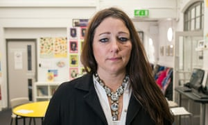 Sarah Hewitt-Clarkson, headteacher of Anderton Park, says intimidation continues in Birmingham