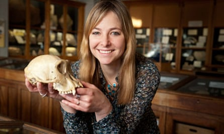 Alice Roberts at Birmingham University, her job includes increasing public engagement with science