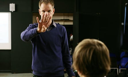 Tom Kent, who is profoundly deaf and works with an interpreter, on teaching placement