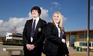 Ellie Whittaker and Jamie Brown