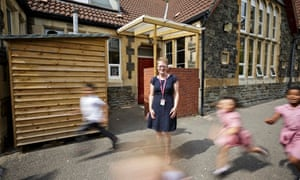 Emma Payne, headteacher at St Mary Redcliffe primary in Bristol