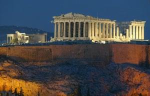 Architecture: The Parthenon Temple Athens Greece