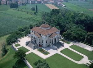Architecture: Aerial view of the Villa Rotonda by Andrea Pallidio