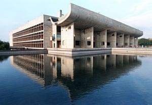 Architecture: The Chandigarh Legislative Assembly building designed by Le Corbusier
