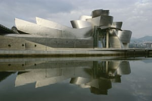 Architecture: The Guggenheim's Bilbao Museum, Frank Gehry's abstract masterpiece, Spain