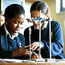 Pupils in a science class