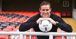 Dundee United goalkeeper Derek Stillie