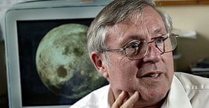 Professor Lionel Wilson, who specialises in studying volcanic activity on Mars, the Moon and Venus