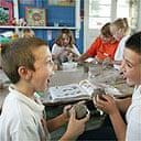 Pupils at Barnes Cray's after-school club