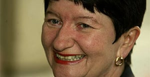 Alison Richard, the vice-chancellor of Cambridge