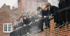 Eton schoolboys