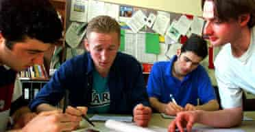 Foreign students learning English/Tefl