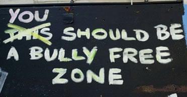Anti-bullying slogan