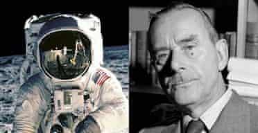 Buzz Aldrin and Thomas Mann