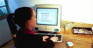 A child on the internet