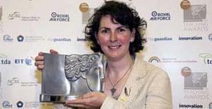 Meeghan Tearle, one of the winners of the Guardian Teaching Awards