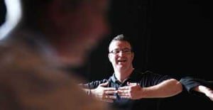 Shaun Baker, the joint head of drama at Ravens Wood school in Bromley, Kent