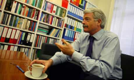 Prof Malcolm Grant, the vice-chancellor of UCL and chairman of the Russell Group