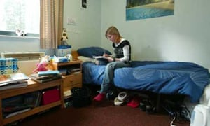 Student accommodation at Leicester University