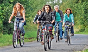 Freewheeling... the Brookes family take to the road in search of inspiration