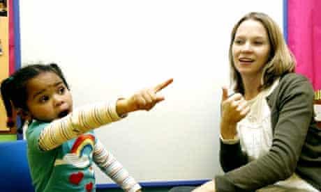 Frank Barnes school for deaf children