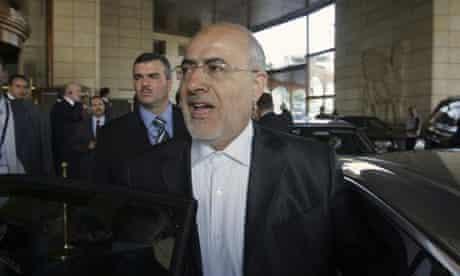 Former Iranian interior minister Ali Kordan