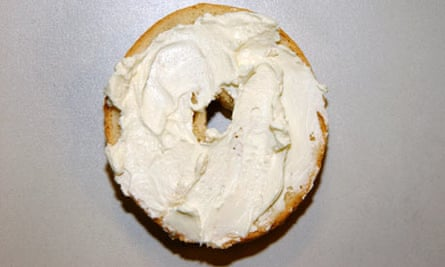 Cream cheese bage