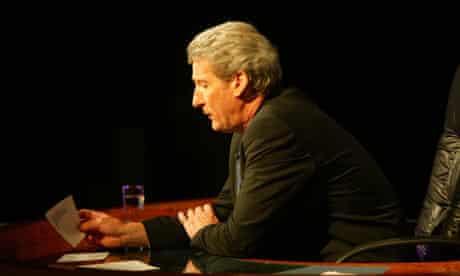 Jeremy Paxman, host of University Challenge