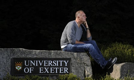 Guardian reporter John Crace goes back to Exeter University 30 years after graduating