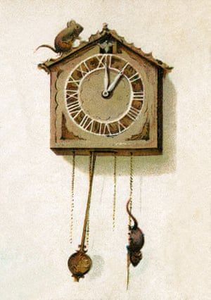Nursery Rhymes: Hickory Dickory Dock, the Mouse Went Up the Clock