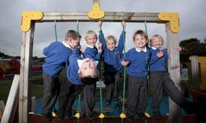 Triple the fun: three sets of twins at Darrass Hall school, Newcastle upon Tyne