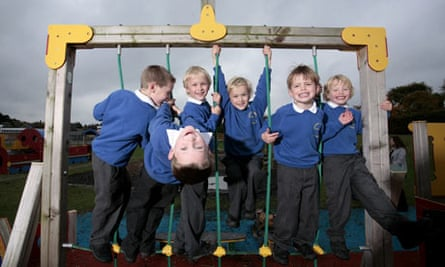 Triple the fun: three sets of twins at Darrass Hall school, Newcastle upon Tyne