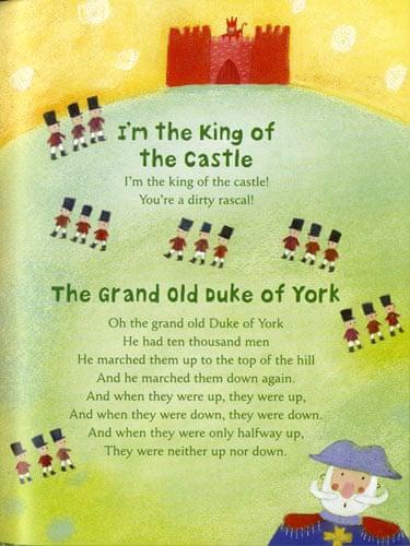 Top ten nursery rhymes   Education   The Guardian