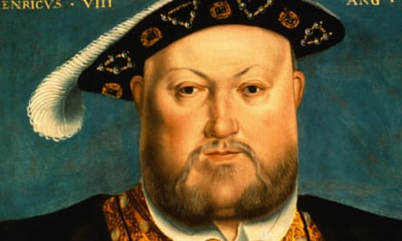 Henry VIII painted in the style of Hans Holbein the Younger