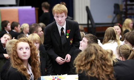 Pupils at Tottington high tackle fast-moving events in a crisis
