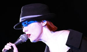 US singer Suzanne Vega performs at a Sydney Theatre, 30 January 2008