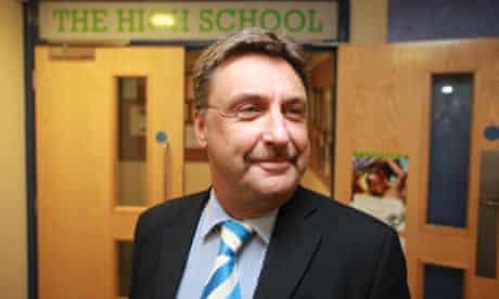 Phil Karvatas, headteacher of Canterbury high school