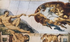 Creation of Adam by Michelangelo Buonarroti