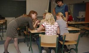 Yhtenaiskoulu school in  Helsinki, Finland