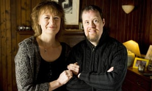 Sally Beamish with her brother Christopher