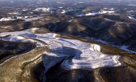 Mountain-top mining in Appalachia