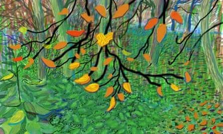 Hockney Autumn