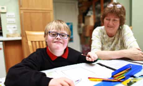 Jamie Woodbridge and his mother, Charlotte: 'I feel like a warrior parent,' she says