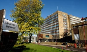 Bradford University, where Siobhan Redman will be going to study physiotherapy