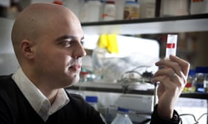 Dr Fotis Spyropulos of Birmingham University: 'obesity is one ofthe biggest drivers of food research