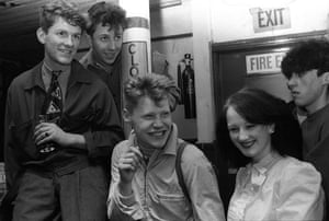 Teenage hairstyles: New Romantics at The Blitz Club in Covent Garden in 1980