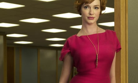 Threatening figure: Joan in Mad Men