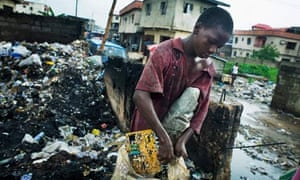 Trying to make a living from electronic waste in Lagos, Nigeria