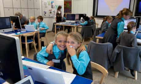 Year 5 pupils at St Cedd's school, which won the school category in the competition