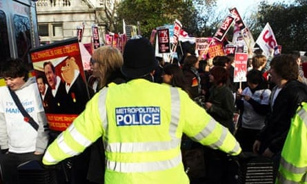 Protest march against increase in tuition fees